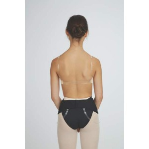 Capezio Replacement Clear Black Straps STRP2